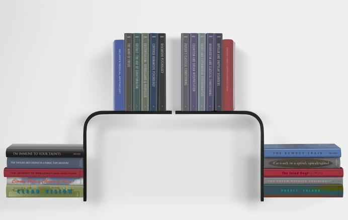Bookshelves with minimalist design and expressive Conceal book shelf - www.homeworlddesign. com (6) #furniture #bookshelves
