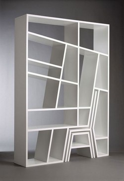 Bookshelf Porn #chair #furniture #stool #shelves