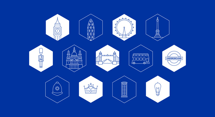 Selenium Conf. Global Identity - PS Design | Branding & Design Studio #icon #icons #icondesign #illustration #city #building #line #outline