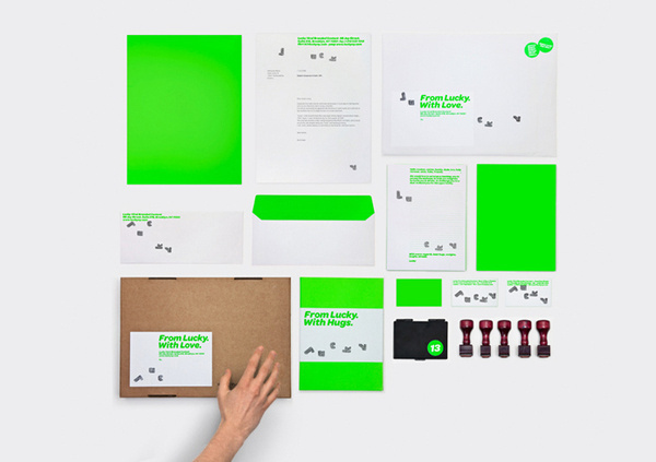 HelloMe_Lucky_14 #fluorescent #identity #cardboard #neon