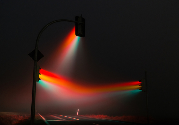 5-20 Second Long Exposures Traffic Lights Photography by Lucas Zimmermann