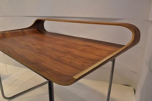 The Continue Desk by Francesco Angiulli » CONTEMPORIST #wood #desk