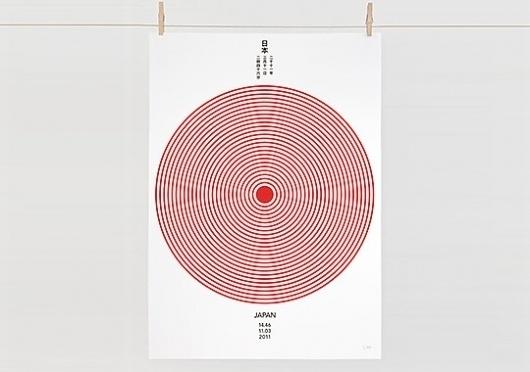 Daniel Freytag JAPAN Tsunami Appeal Print Daniel Freytag JAPAN Tsunami Appeal Print – Selectism.com