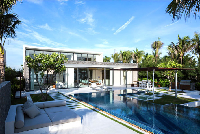 Exotic Luxury Naman Villa in Vietnam -#architecture, #house, #home, home, architecture