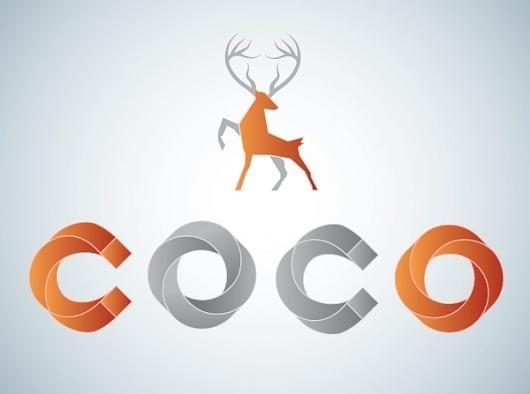 Coco Vodka on the Behance Network #logo #branding #typography