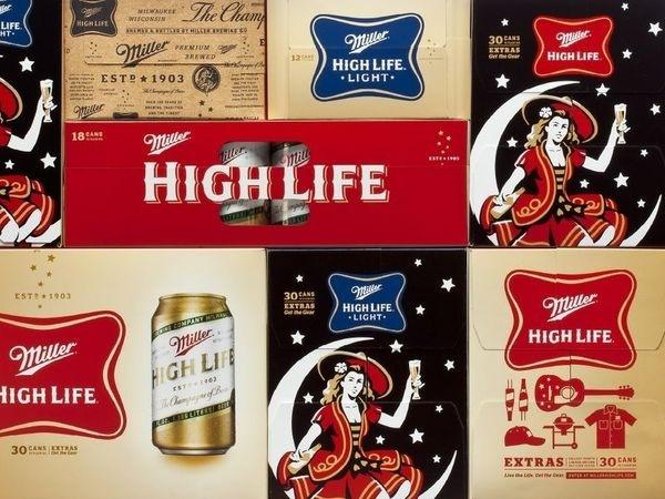 Throwback ThursdayThe Dieline #packaging #beer #collage
