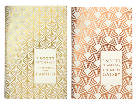 Creative Review F Scott Fitzgerald anniversary editions #pattern