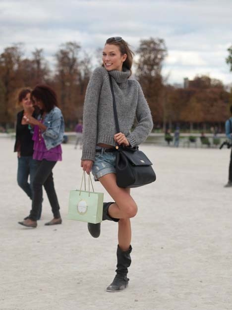 Best Fashion Street Chic Karlie Kloss Images On Designspiration