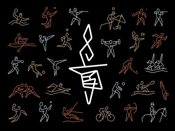 Olympicons_big #logo #icons