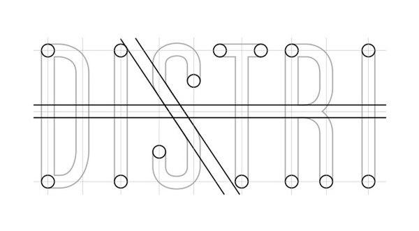 La Distributrice: Smallest cafe place in NorthAmerica The Dieline #logo #design #graphic
