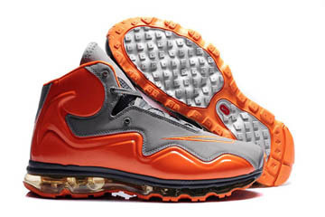 Air Flyposite Men Shoes Cool Grey and Total Orange #shoes