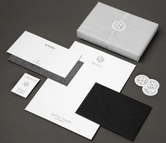 ignant1.jpg (538×462) #envelopes #branding #print #ignant #namecards #letterheads #stationery #wrapping