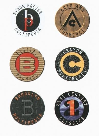 AIGA Design Archives - logo #logos #multimedia #design #seal #byron #press #pentagram