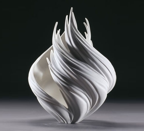 Vessels by Jennifer McCurdy | Daily Icon #throwing #sculpture #mccurdy #porcelain #jennifer #nature #seaweed #coral