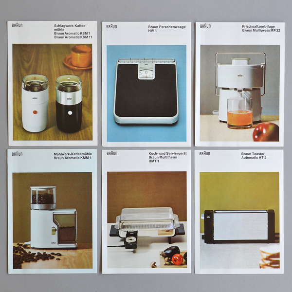 braun brochures #brochures #braun #60s #design