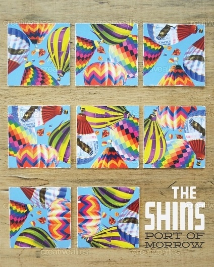 The Shins Poster by Benetownman #balloons #air #design #graphic #jackson #hot #poster #lynch