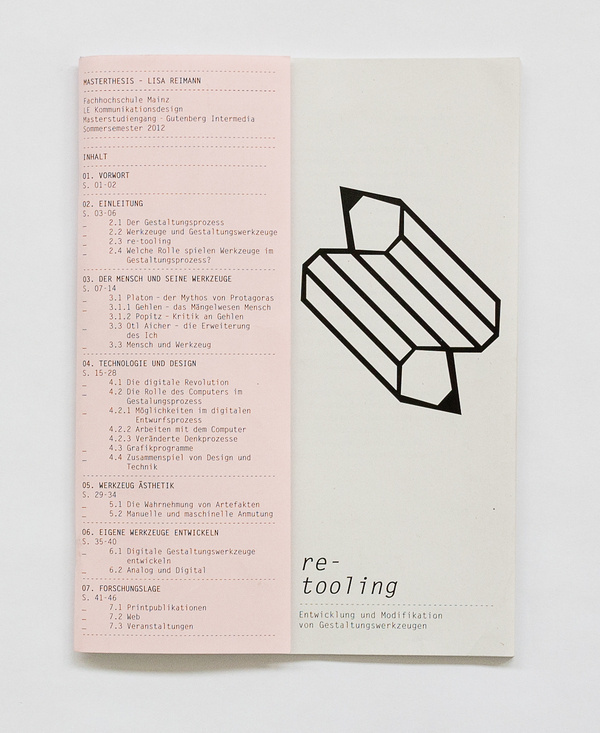 re tooling : lisa reimann #design #publication #layout #editorial #typogaphy
