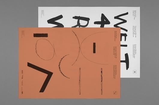 SI Special: Hannes Gloor & Stefan Jandl | September Industry / Bench.li #design #graphic #poster #typography