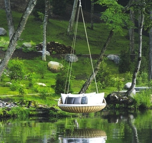 CJWHO ™ (Swingrest) #crafts #design #interiors #furniture #photography #art #swing #rest