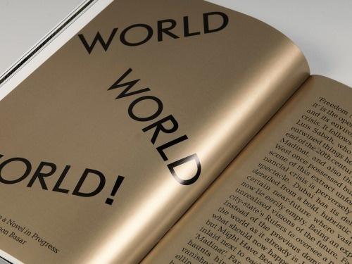 Dubai Düsseldorf #book #gold #layout #bling #typography