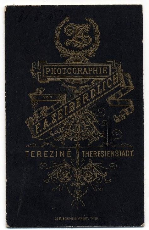 F. A. Zeiberdlich, Terezín – psík r fg #typography #inspiration