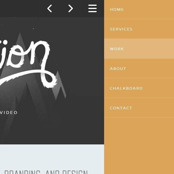 40 Beautiful and Effective Responsive Navigation Menus #responsive #menu #navigation #webdesign