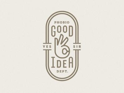 Good Idea Dept. #badge