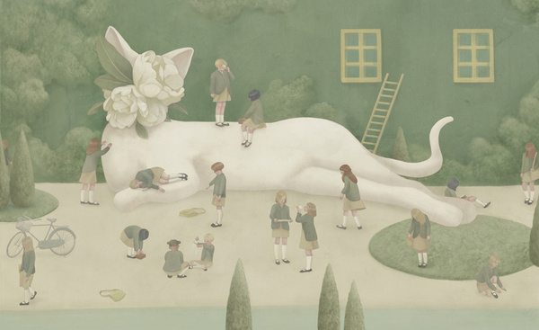 Beautiful Surrealist Pictures and Illustrations by Hsiao-Ron Cheng #phantasy #picture #design #graphic #illustrations #surrealist