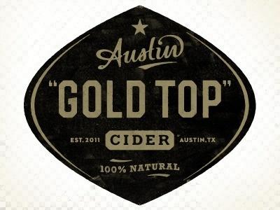 Dribbble - Austin Eastciders label by Simon Walker #cider #simon #austin #logo #walker