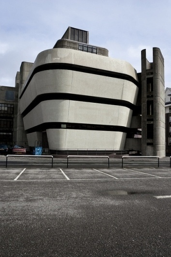 land locked - Norrish Library - Portsmouth - uk | Flickr - Photo Sharing! #brutalist #brutalisme #architecture #library #portsmouth