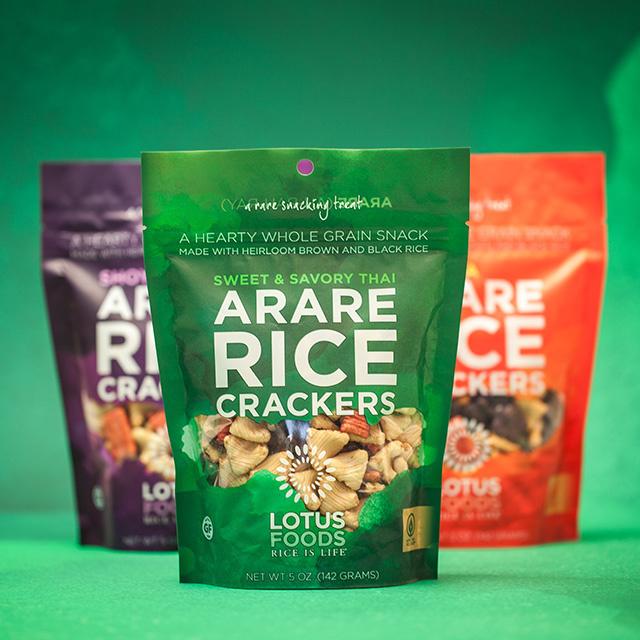 Bulldog Drummond | Lotus Foods: Arare Rice Crackers