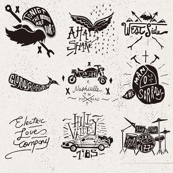 Logos & hand draws on Behance by Nicolás Crespo #mark #logo #handrawn
