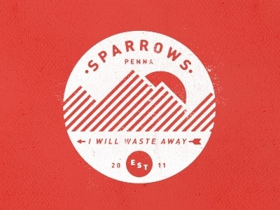 Dribbble - Camp Sparrows by Colin Miller #logo