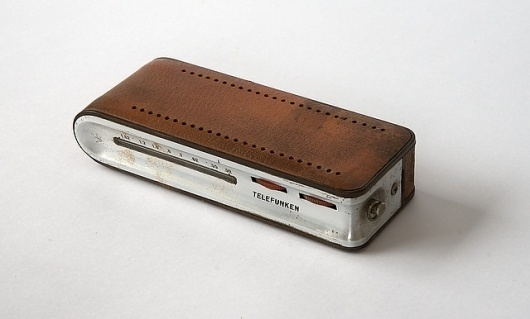 TELEFUNKEN Match Transistor Radio | Flickr - Photo Sharing! #design #richard #sapper #product #1960s