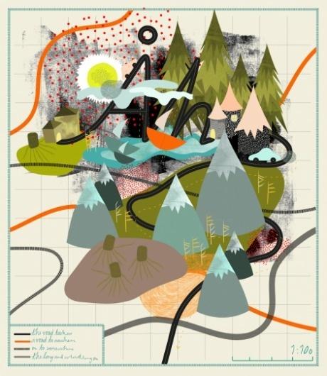 Fashion illustrator, David Downton - Creative Journal #infographic #map #illustration