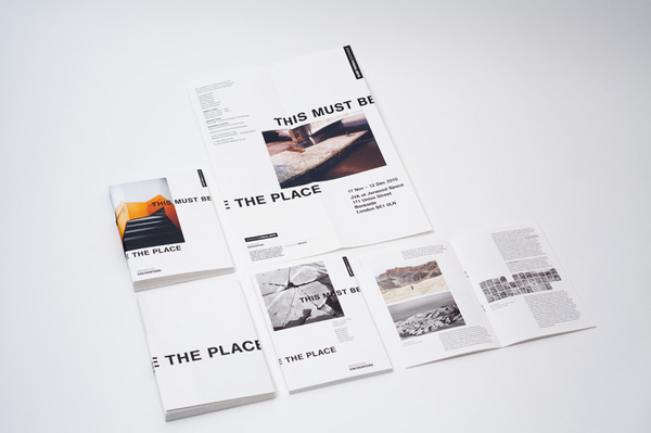 Jerwood This Must Be The Place | THIS IS Studio #catalogue #print #layout #editorial