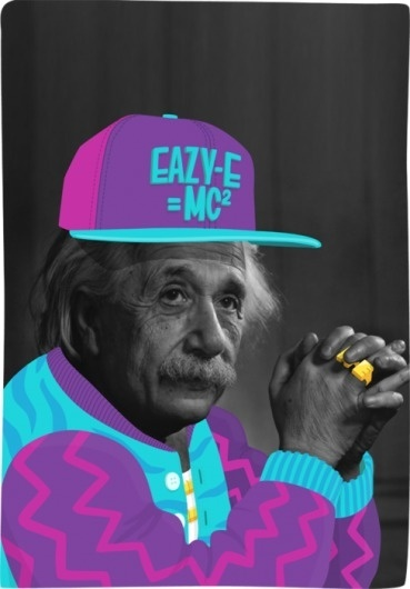graphic design | Tumblr #illustration #vector #einstein