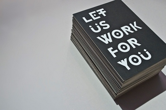 Let Us Work For You - Workshop Graphic Design & Print - Leeds, West Yorkshire