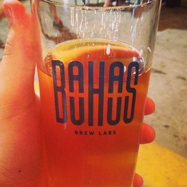 Using some big juicy type in their logo. #logotype #beer #brew #labs #identity #logo #bauhaus #typography