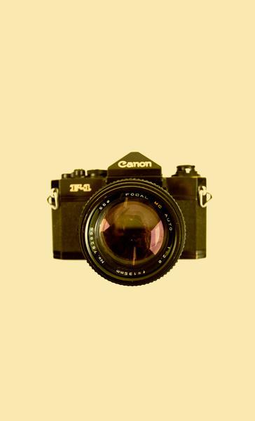 Canon F 1 Art Print #cool #old #camera #print #design #retro #land #unique #photography #vintage #art #studio #society6 #antique #new