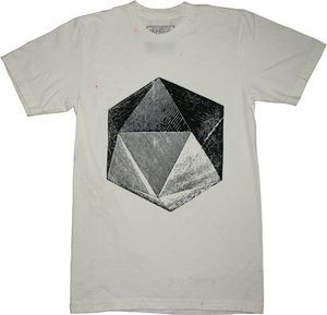 My Design Inspiration (Crystal t-shirt by The Orphan's Arms.) #geometry #shirt