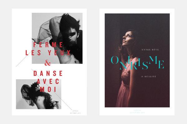Lauriane Bueb La moue #design #posters