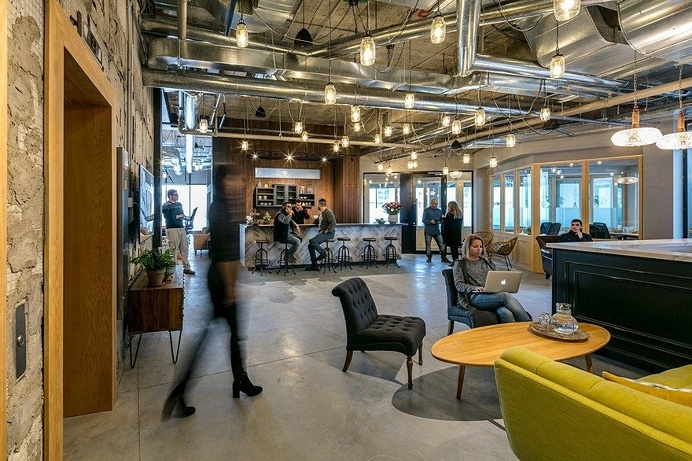 Ayeka Coworking Space by Setter Architects