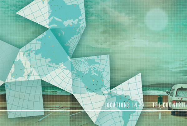 Kelli Anderson: AirBnb Projects #folding #map