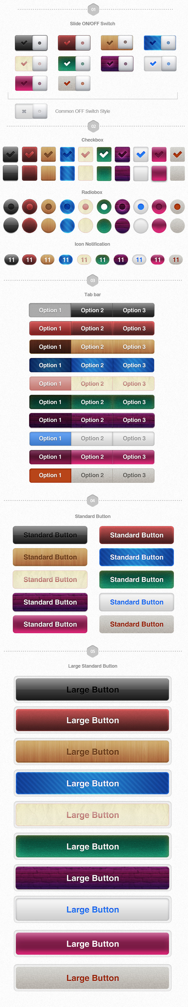 UI Pack for iOS Volume II Build Apps. Awesomely! #controls #design #ui #iphone #element #ios #buttons