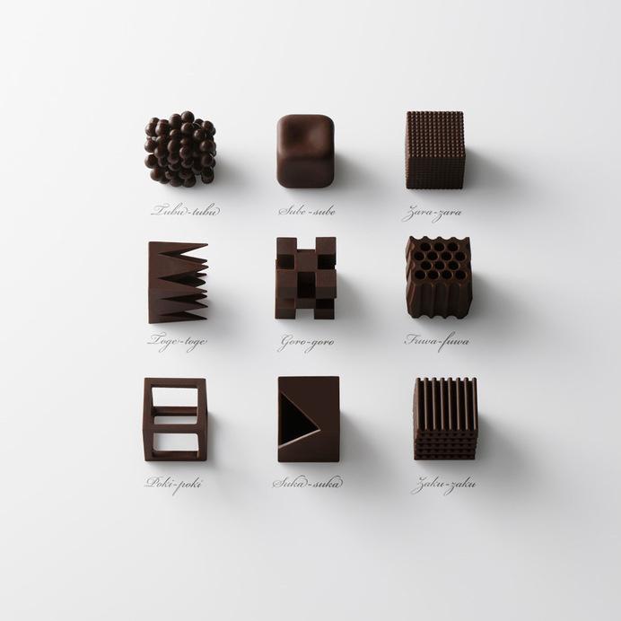 choc-top #chocolate #sculptures #geometric #art