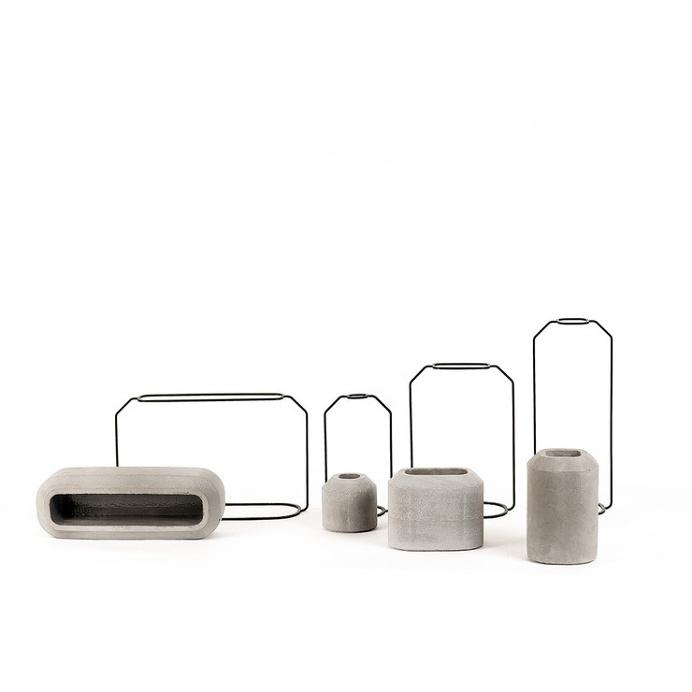 C Weight Vase Raw #vase #concrete