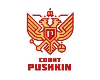 Count Pushkin by Simon™ #logo