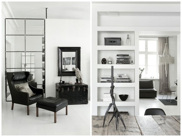 Extreme Monochrome in Copenhagen emmas designblogg #interior #design #decor #deco #decoration