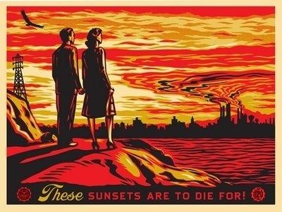 obey poster design « #illustration #art